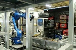 Robotic Arm Toyota industries sana airport source ANA nippon