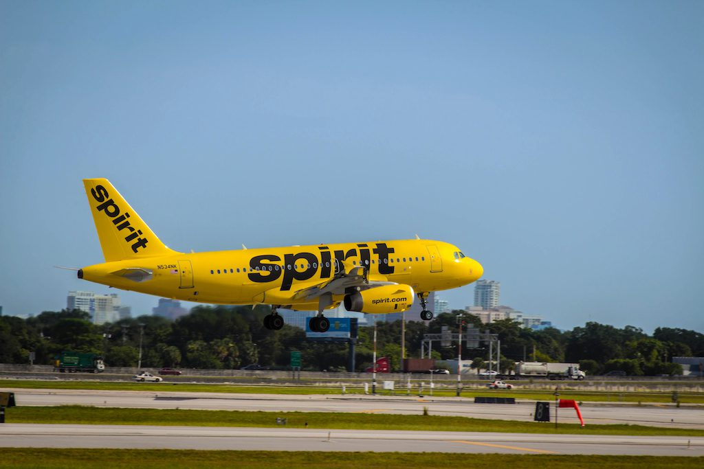 Courtesy of Spirit  / Spirit Airlines