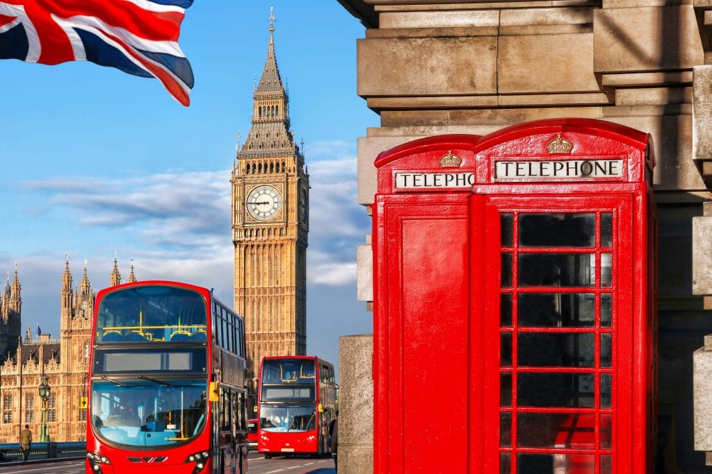 Pictured is the Big Ben in London, UK. Many of Expedia Group's businesses are oriented toward international travelers.