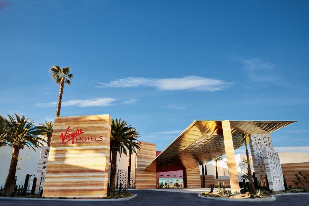 Virgin Hotels isn't abandoning plans to be a competing, independent lifestyle brand. But a Hilton partnership helps the company gain customers in Las Vegas.