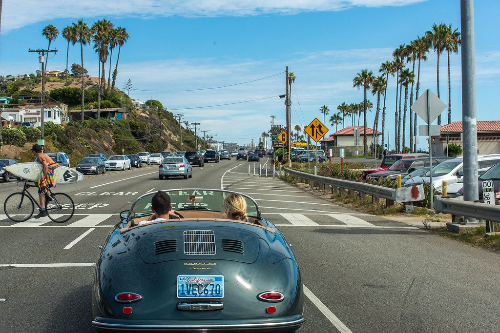 U.S. travelers, like these pictured here on an earlier trip along the Pacific Coast Highway in southern California, were out in droves Memorial Day weekend 2021.