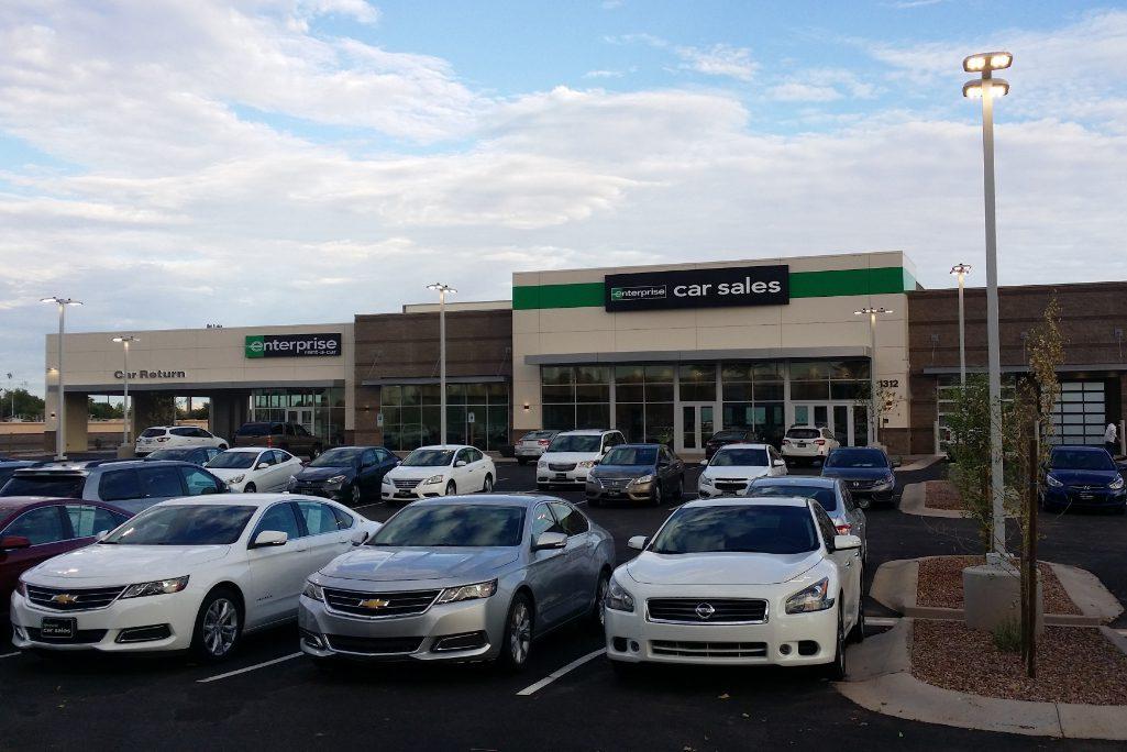 An Enterprise Rent-A-Car location in Phoenix, Arizona.