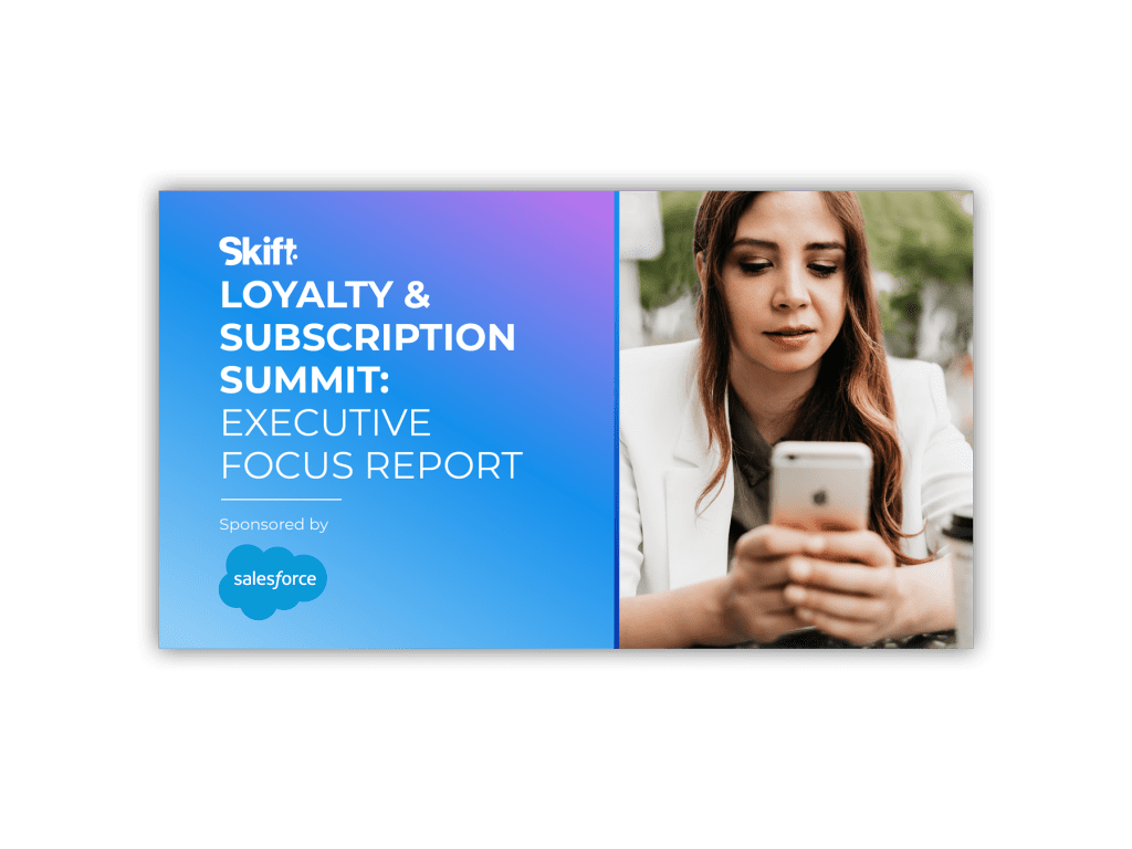 Executive Focus Report: Loyalty & Subscription Summit