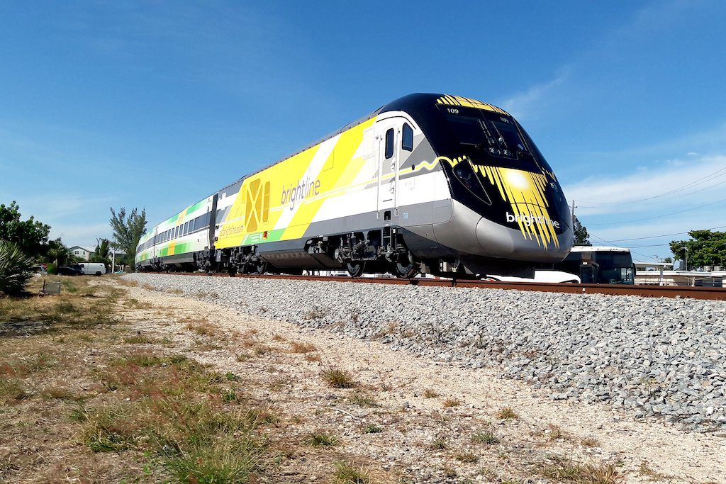 Brightline wants to ensure private rail operators will have access new rail funds proposed in Washington, D.C.