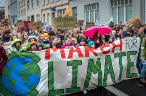 A climate change protest in Bonn, Germany, on March 15, 2019. Picture: Unsplash