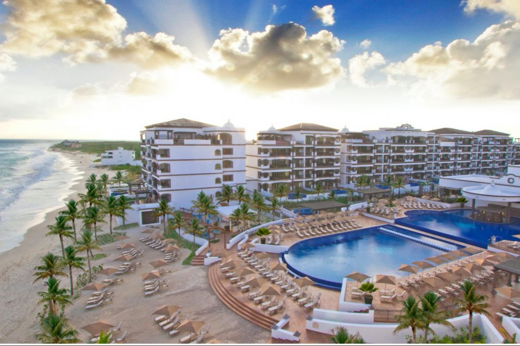 Wyndham debuted its 21st brand Tuesday with the arrival of Registry Collection Hotels (pictured: Grand Residences Riviera Cancun, a Registry Collection Hotel, the brand's first property).