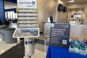 United Air Filtration Airport Display