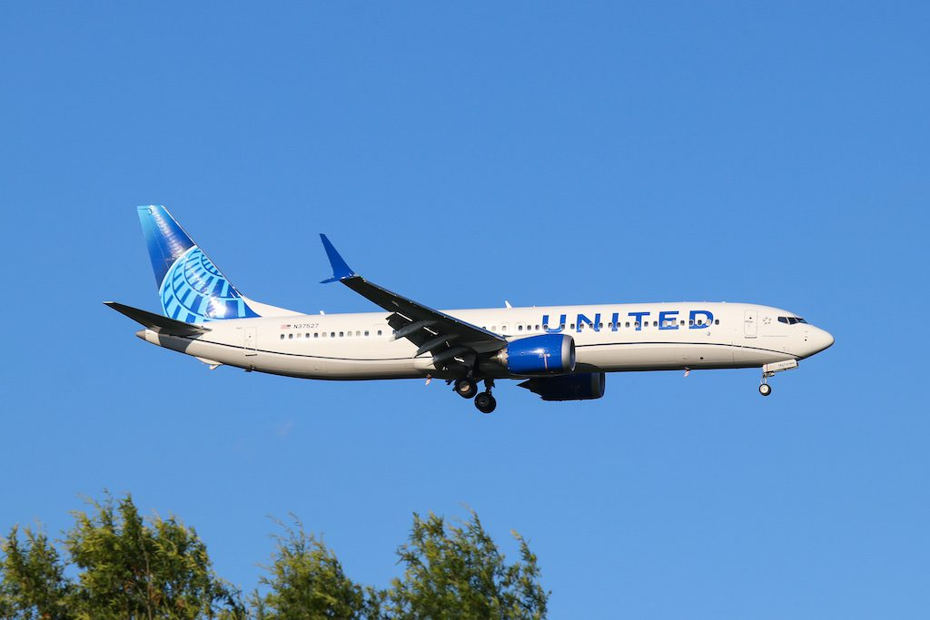 United plans to be bigger next year than it was in 2019 in part due to its large aircraft orders earlier this year.