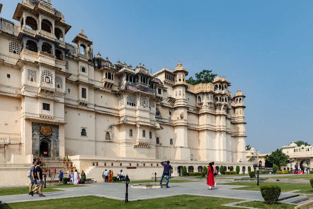 The City Palace in Udaipur, India. This week, travel startups announced more than $95 million in funding. Ixigo, Exoticca, MisterFly, and Mototourismo gained.